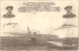 """Dépt 77 - COMBS-LA-VILLE - Aérodrome De Combs-la-Ville-Quincy - Monoplan """"l'Aéro-Stable"""" A. MOREAU - (avion, Aviation) - Combs La Ville"""