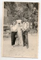 FOTO KAART MET BEER -    ZIE SCAN 2  _ 8.50 OP 13 CM - Fotos