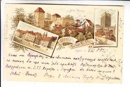 HUNGARY EGER GRUSS AUSS  1892 - Hongrie