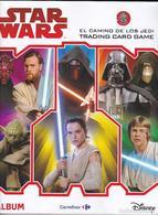 ALBUM COMPLETO CON 118 CROMOS DE STAR WARS DE CARREFOUR (LA GUERRA DE LAS GALAXIAS) - Star Wars