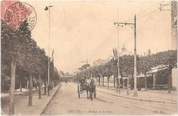 Dépt 77 - MELUN - Avenue De La Gare - (attelage) - ND Phot. N° 152 - Melun