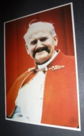 Carte Postale - Pope John Pole II (Pape Jean Paul II Avec Moustache) - Papas