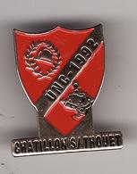 PIN'S --  UNC CHATILLON SUR THOUET -- Union Nationale Des Combattants ( Dép 79 ) - Associations