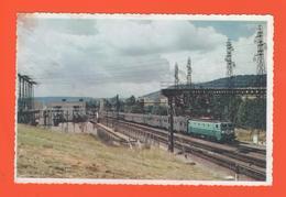 PL/9 LE MISTRAL TRAVERSE A PLEINE VITESSE LA SOUS STATION DE GISSEY SUR FLAVIGNY PRES DE DARCEY  LA VIE DU RAIL / Train - Trains