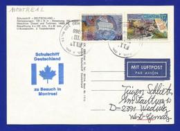 """Schiffspost -  Schulschiff  """"Deutschland"""" - Zu Besuch In Montreal - Postkarte - Post"""