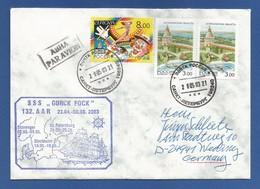 """Schiffspost -  """" Gorck Fock """" - St.Petersburg - Brief - Post"""