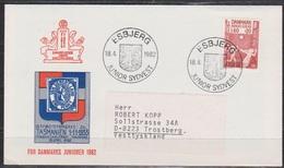Dänemark 1981 Mi-Nr.722 Nationales Kinderhilfswerk Sonderstempel( D 3519) Günstige Versandkosten - Briefe U. Dokumente