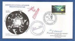 Schiffspost , Australian National Antarctic Research Expedition - Brief - Post