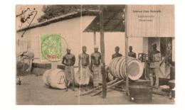 DAHOMEY - Intérieur D'une Factorerie à Zagnanavo - Rare état Correct CPA  Vers 1907 - Dahomey