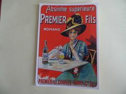 Absinthe Supérieure - Premier Fils - Romans - Publicité