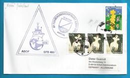 Schiffspost , RF Forschungsschiff Meteor Nach Grönland - Brief - Post