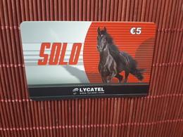 Prepaidcard  Horse Solo  Belgium  Used Rare - Belgium