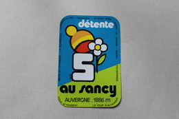 DETENTE AU SANCY  1 AUTOCOLLANT - Autocollants