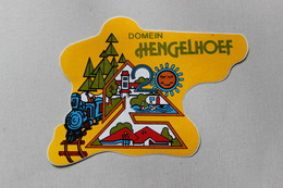 DOMEIN HENGELHOEF   1 AUTOCOLLANT - Autocollants