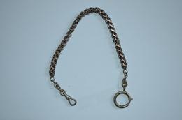 Chaine De Montre Argent Ancienne 25.76g - Necklaces/Chains