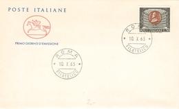 ITALY - FDC 1963 VERDI Mi #1153 - 6. 1946-.. Republik
