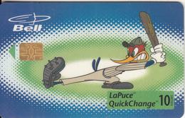 CANADA - Woody Woodpecker/Baseball, Tirage 24500, 04/99, Used - Canada