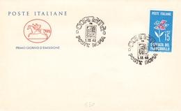 ITALY - FDC 1963 STAMP DAY Mi #1155 - 6. 1946-.. Republik