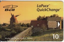 """CANADA - Moulins De L""""ile Aux Coudres/Quebec, Tirage 20000, 05/98, Used - Canada"""