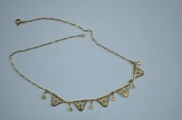 Collier Draperie Ancien Plaqué ORIA - Necklaces/Chains