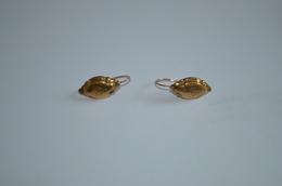 Dormeuses Or 18K Anciennes (Tete De Cheval) 2.57g - Earrings
