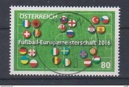 """Österreich 2016:  """"Fußball-EM 2016"""" Gestempelt (siehe Foto/Scan) - 1945-.... 2. Republik"""
