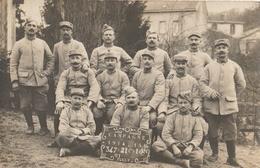 VERZY - Carte Photo Militaria : Campagne 1914-15 - Verzy