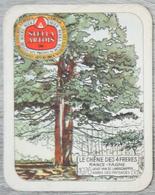 Sous-bock STELLA ARTOIS Le Chêne Des 4 Frères Rance Fagne Arbre 1976 Année Des Paysages Landschappen 9 Bierviltje (CX) - Sous-bocks