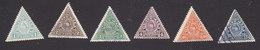 Guatemala, Scott #O6-O9, O11-O12, Mint Hinged/Used, Official, Issued 1929 - Guatemala