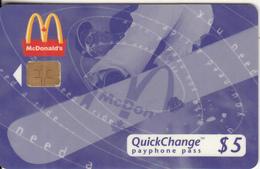 "CANADA - McDonald""s, 10/96, Used - Canada"