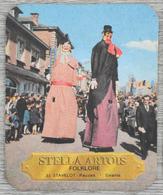 Sous-bock STELLA ARTOIS Folklore 33 Stavelot Reuzen Géants Bierviltje Bierdeckel Coaster (CX) - Sous-bocks