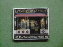 Fève - Visuel Boulangerie LE MOULIN DE LA VIERGE Rue Vercingétorix PARIS 14 - Fèves