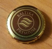 Beer Bottle Cap Capsule Kronkorken Baltika Premium Carlsberg Ukraine Brewery - Beer