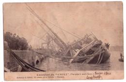 1828 -  Gironde - L'Accident Du CHILI ( Vue Prise à Marée Haute ) - Coll. G. Gorce - - Disasters