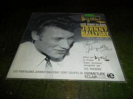RARE LES PANTALONS JOHNNY HALLYDAY FUSEAU JEAN 64 OFFERT PAR BIG CHIEF - Formats Spéciaux