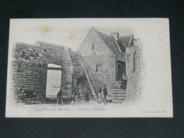 LE MONT SAINT MICHEL   1900    /   ENTREE MER .........  EDITEUR - Le Mont Saint Michel