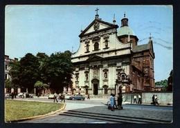 Polonia. Kraków *Kosciol Sw. Piotra I Pawla* Edit. Ruch. Circulada 1967. - Polonia