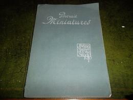 RARE PORTRAIT MINIATURES  1910 - Books, Magazines, Comics