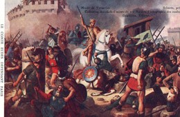 Chromos & Images > Fiches Illustrées > Histoire Bon Point Siege De Paris Par Les Normands - History