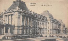 BRUXELLES - Le Palais Royal - Monumenten, Gebouwen
