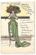 Tabarin, Bar - FEMME - Illustrateur Charles NAILLOD - Naillod