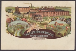 Foche Bie Solingen, Engelswerk C. W. Engels, Stahlwarenfabrik - Deutschland