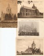 Sint-Martens-Latem : Kerk ---- 4 Kaarten - Sint-Martens-Latem