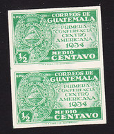 Guatemala, Scott #Not Listed, Mint Hinged, Conference For Central American Union, Issued 1934 - Guatemala