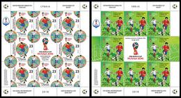 Serbia 2018 FIFA World Cup Russia 2018, Mini Sheets MNH - 2022 – Qatar