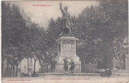 F66-007 PERPIGNAN - Statue Et Place Arago - Perpignan