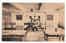 Waremme.  Collège St-Louis . - Le Réfectoire  1924 - Waremme
