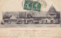 CPA 59 Roubaix 1911, Exposition Internationale Du Nord De La France, Le Village Flamand. (pk47590) - Roubaix