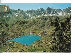 ANDORRE / Valls D'Andorra Lac D'ELS PESSONS / CPM Voyagée 1987 / B.E. - Andorra