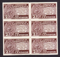 Guatemala, Scott #Not Listed, Mint Never Hinged, Conference For Central American Union, Issued 1934 - Guatemala